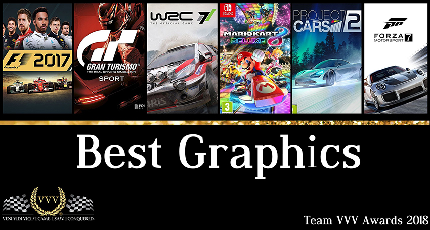 Team VVV Awards 2018 Best Graphics
