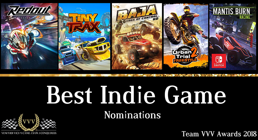 Team VVV Racing Game Awards 2018 Best Indie Game
