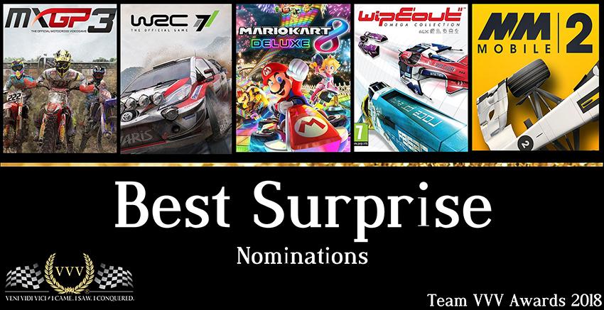 Best Surprise 2018 nominations