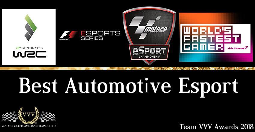 Team VVV Racing Game Awards 2018: Best Automotive Esport