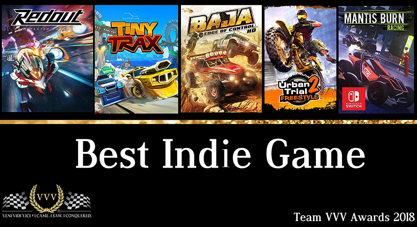 Team VVV Racing Game Awards 2018: Best Indie Game