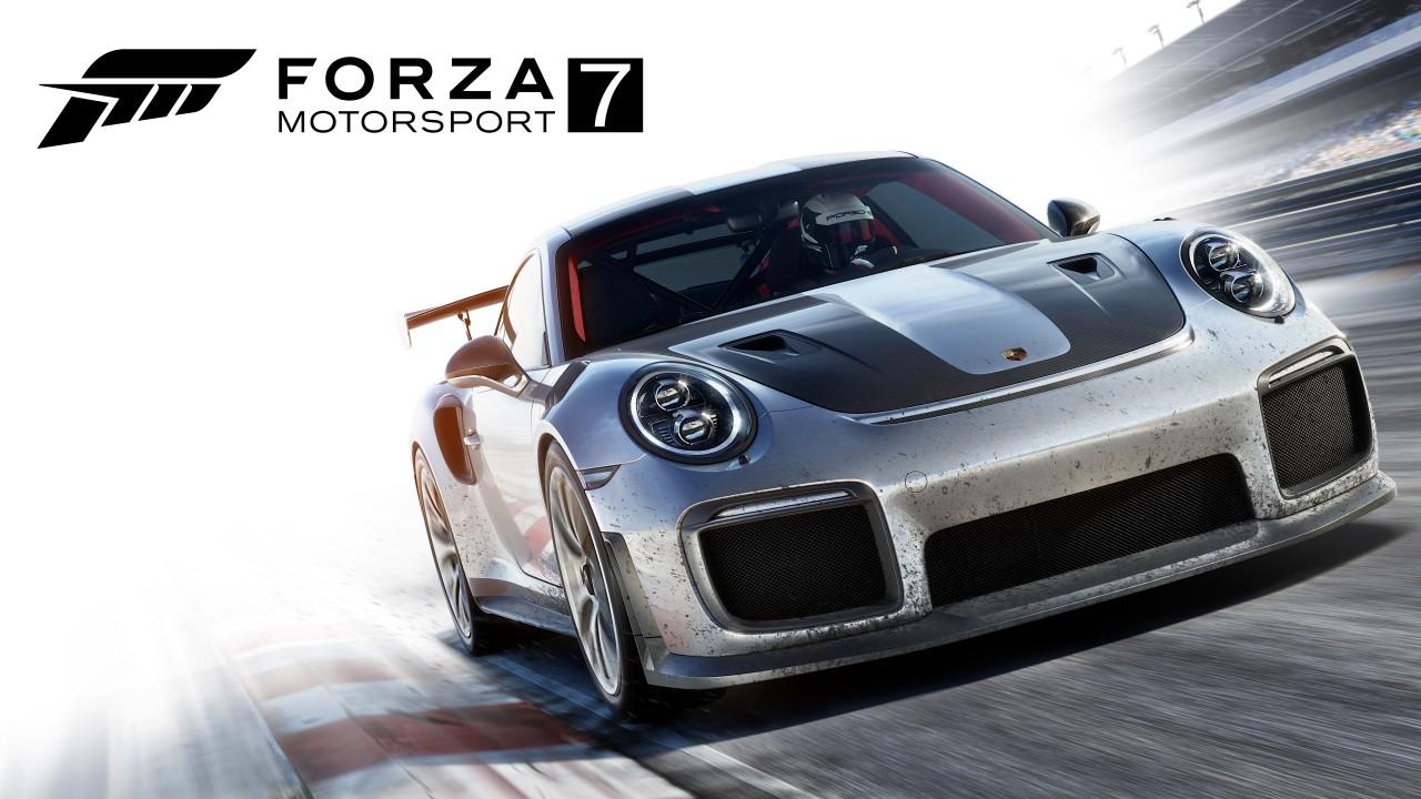 Forza Motorsport 7 main art Porsche 911 GT2 RS
