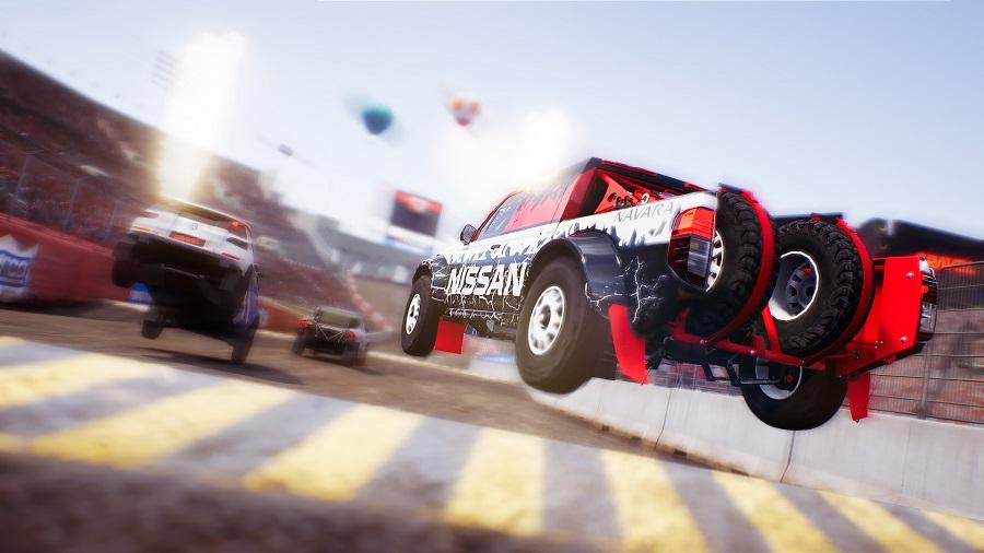Gravel Stadium Circuit Trophy Truck Racing