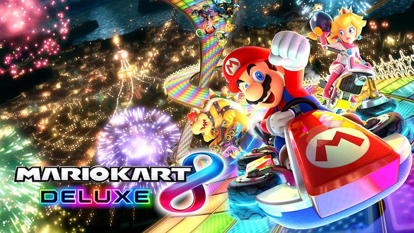 Mario Kart 8 Deluxe main art