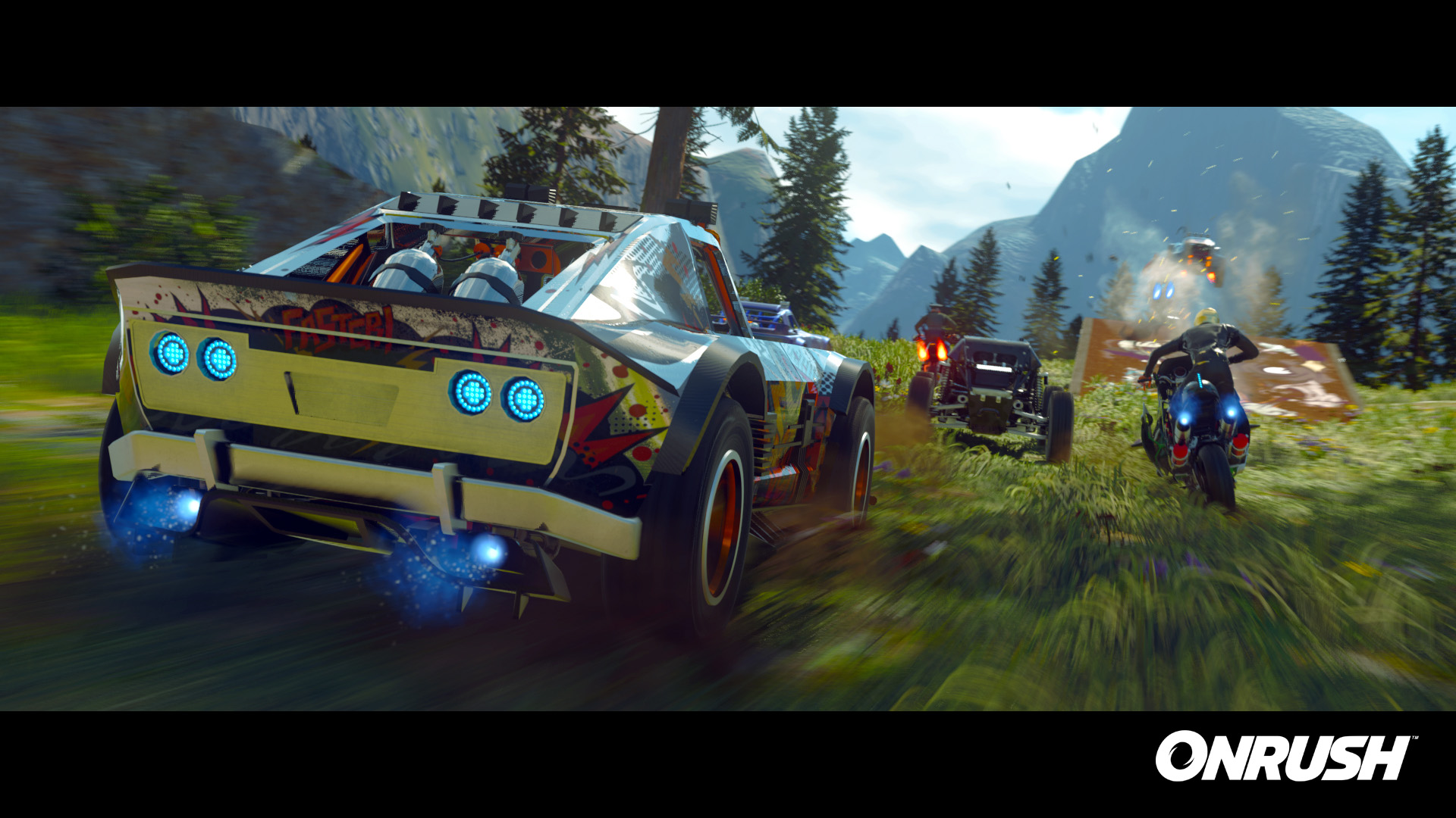 New action-packed Onrush video shows first gameplay glimpse