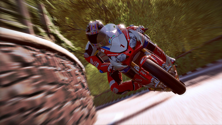 TT Isle of Man: Ride on the Edge is a relentlessly tense bike racer