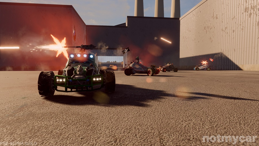Notmycar aims to bring vehicular combat to the battle royal scene
