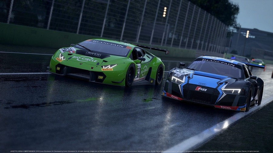 Latest Assetto Corsa Competizione images highlight wet