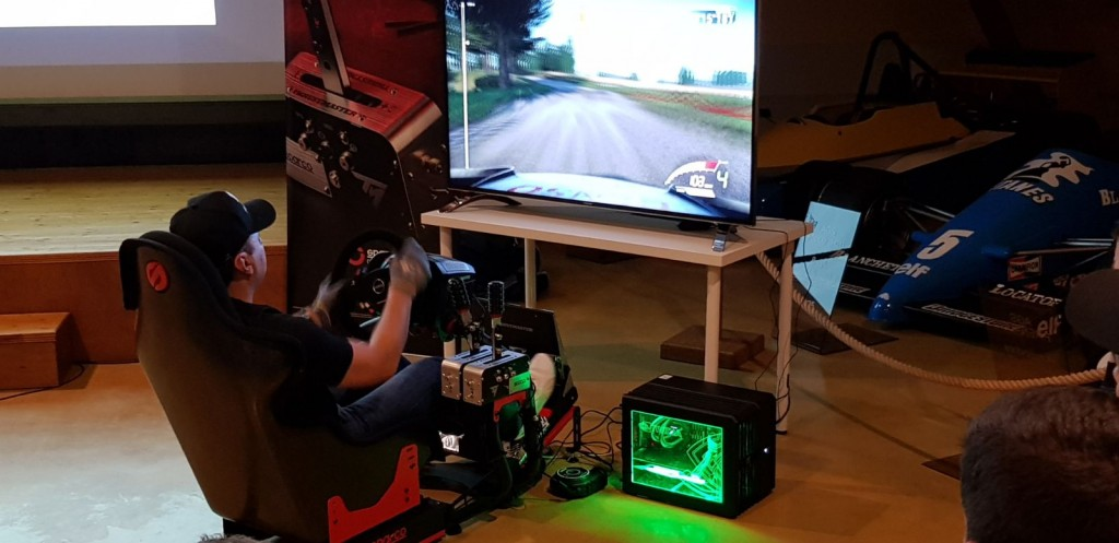 Thrustmaster TSS Handbrake Sparco Mod revealed with two