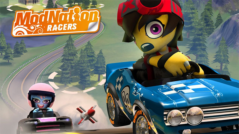 ModNation Racers art