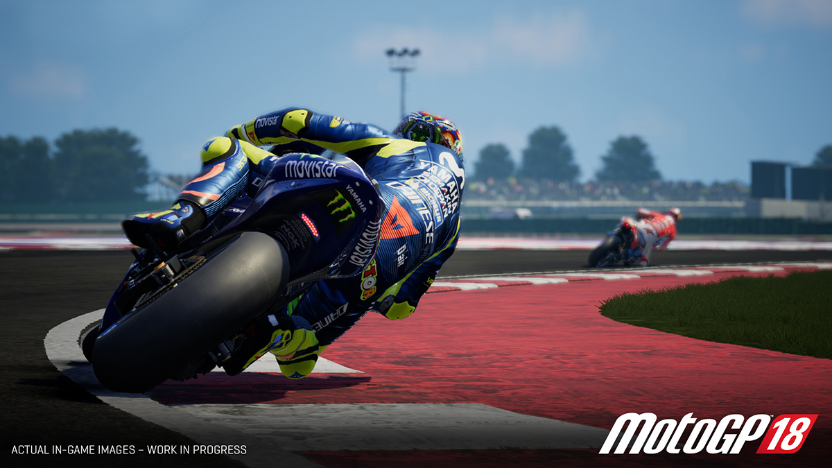 MotoGP 18's tracks have been recreated with 1:1 accuracy