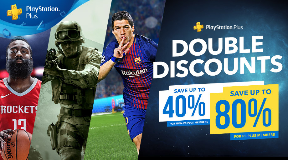playstation store double discounts sale
