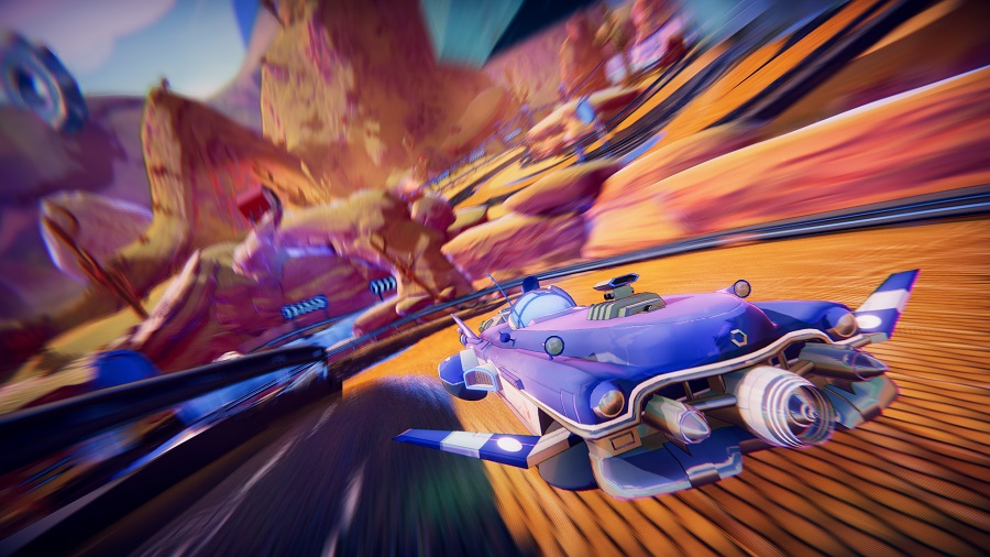 [UPDATE] Team-based co-operative racer Trailblazers releasing in May