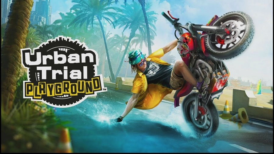Physics-based stunt bike racer Urban Trial Playground releases for Switch