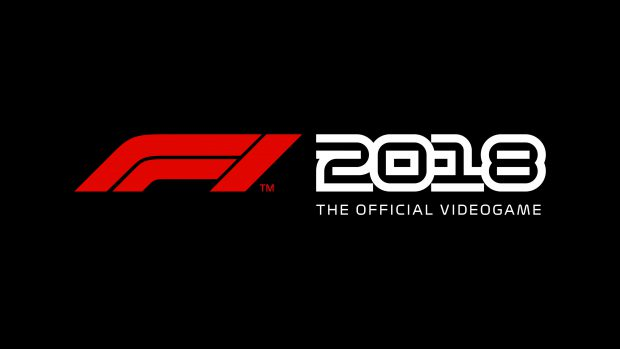 f1 2018 videogame logo the game