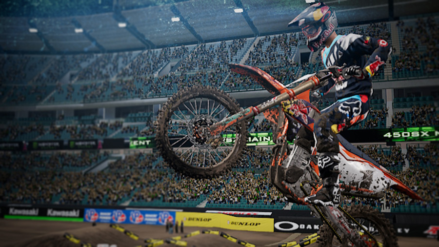 Monster Energy Supercross Nintnedo Switch screenshot