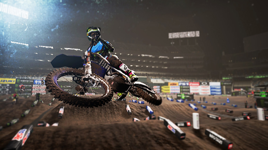 Monster Energy Supercross Nintendo Switch screenshot