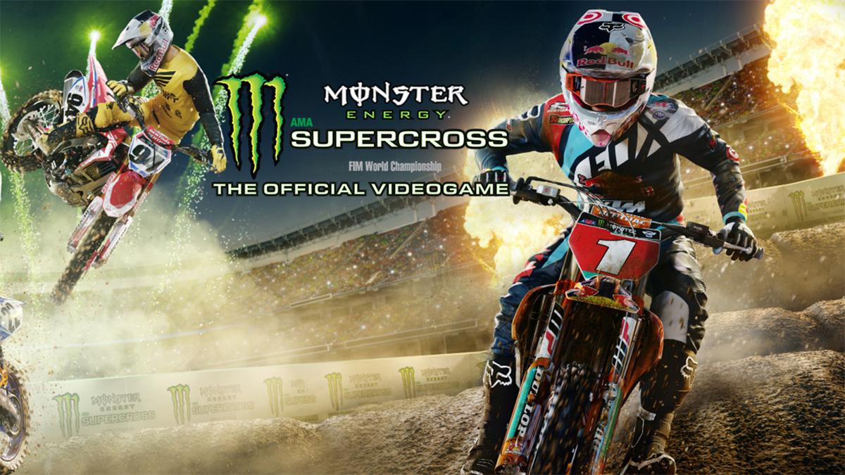 Monster Energy Supercross Nintendo Switch review