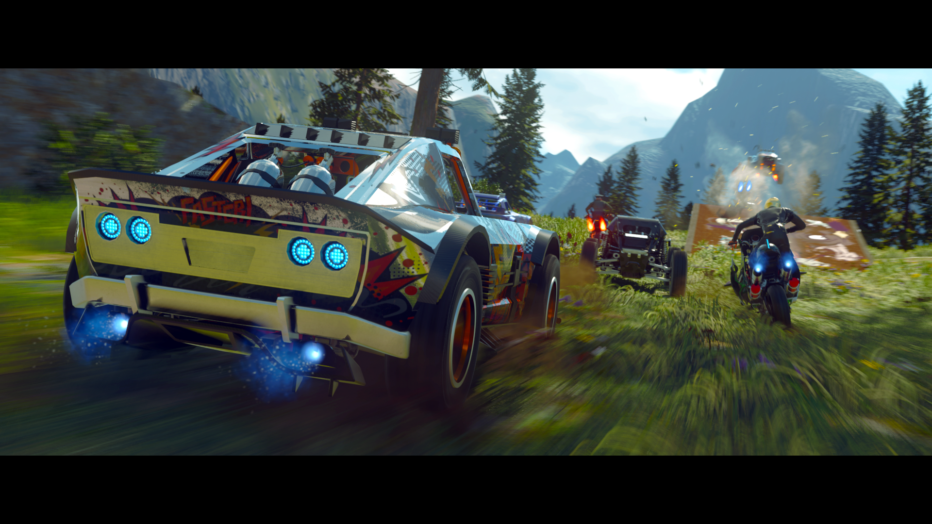 Onrush's PS4 open beta goes live for pre-order customers