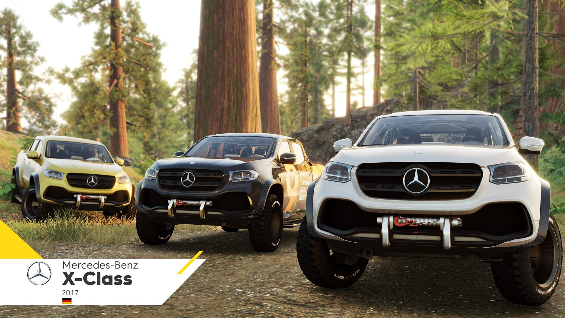 Mercedes-Benz X-Class pick-up truck confirmed for The Crew 2