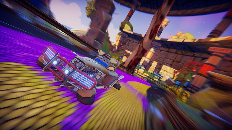 Release date announced for co-op racer Trailblazers