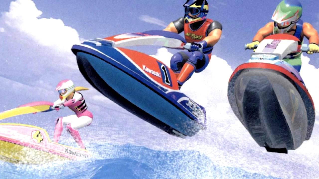 Wave Race 64 artwork