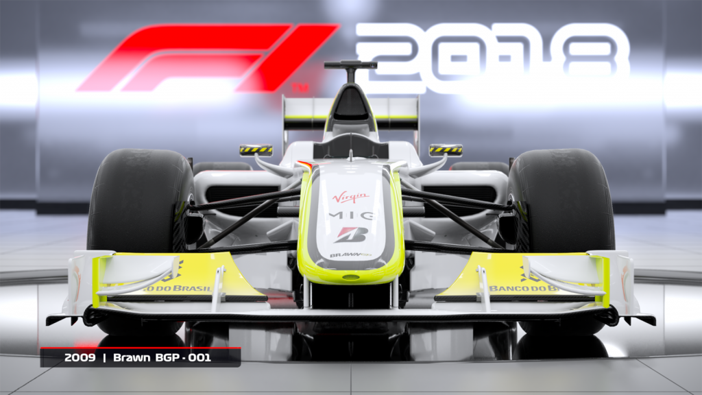 Brawn BGP-001 and Williams FW25 announced as DLC for F1 2018