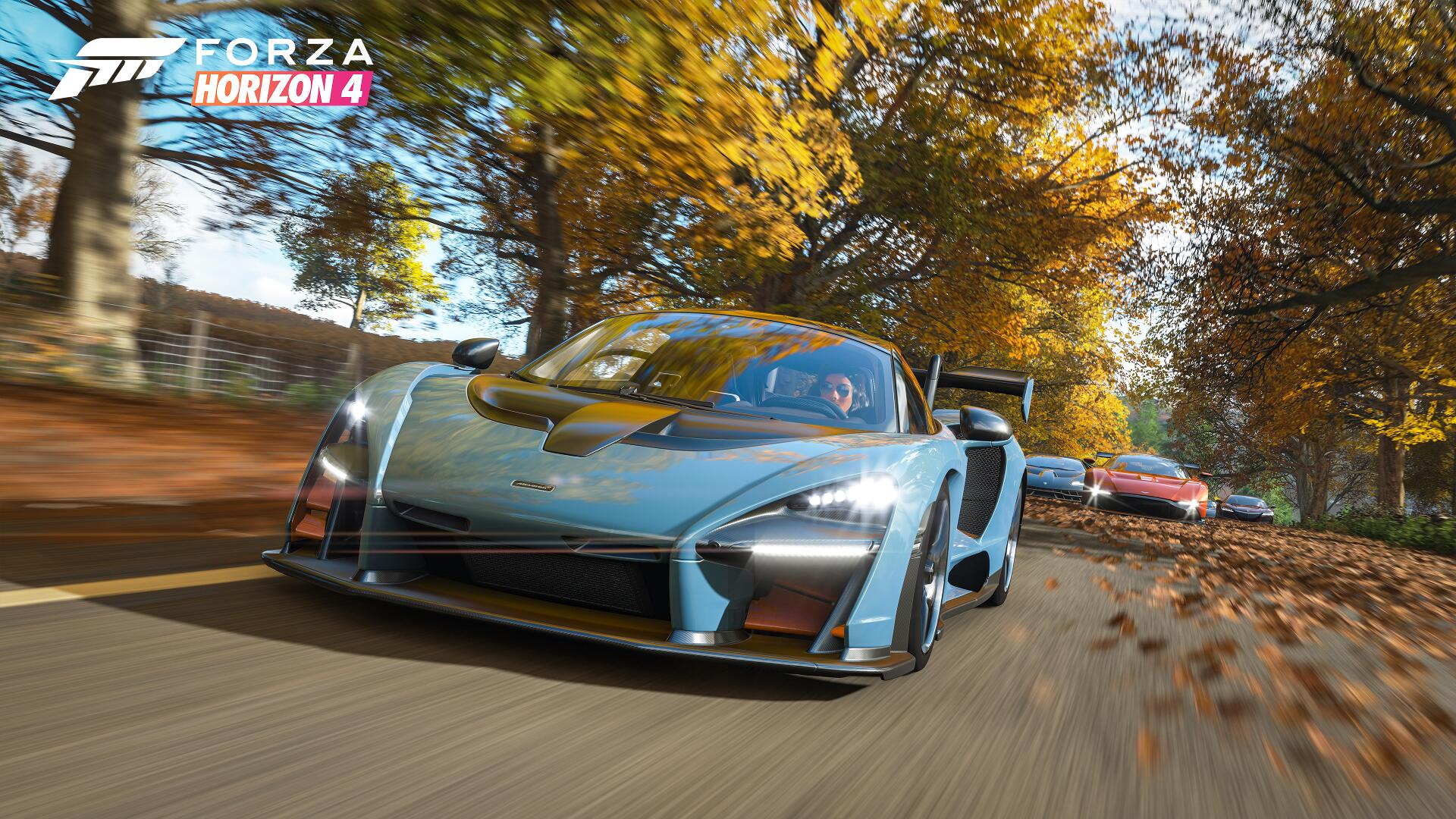 Forza Horizon 4 screenshot McLaren Senna