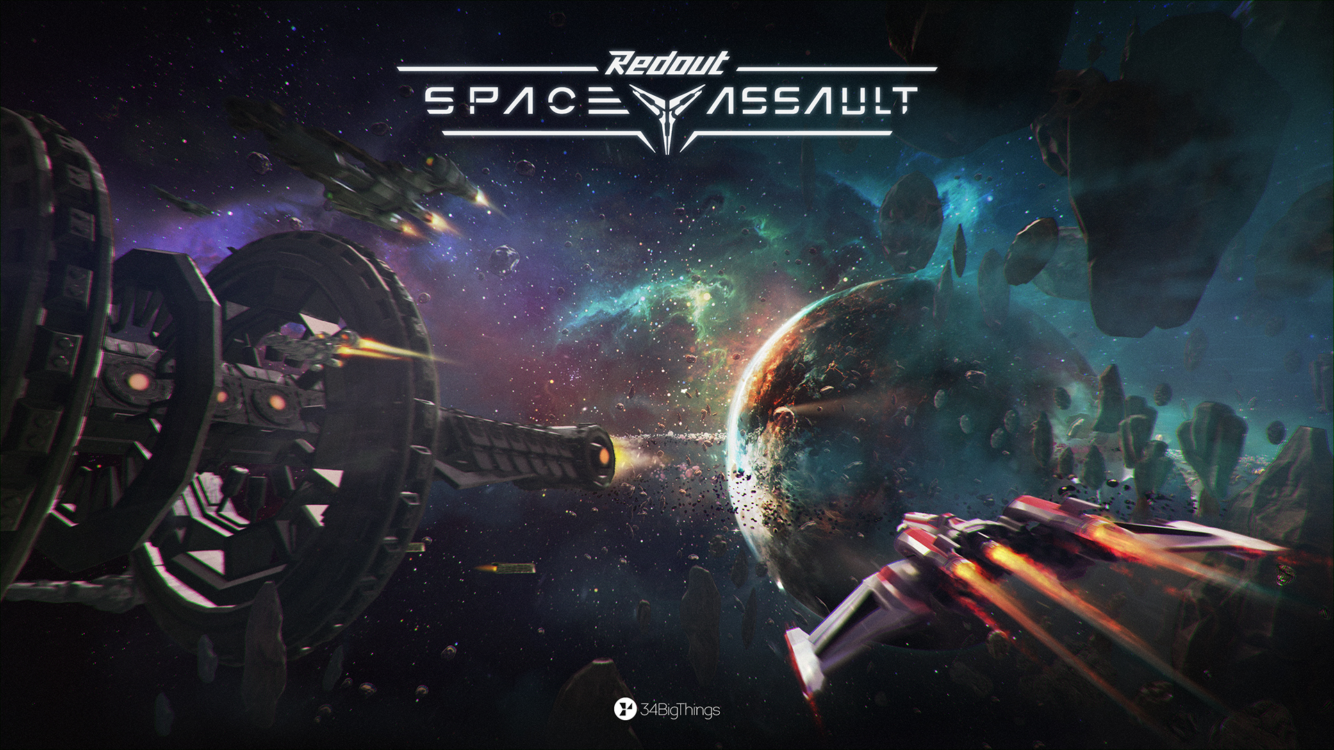 Redout: Space Assault dogfighting spin-off coming to PC during Q1 2019