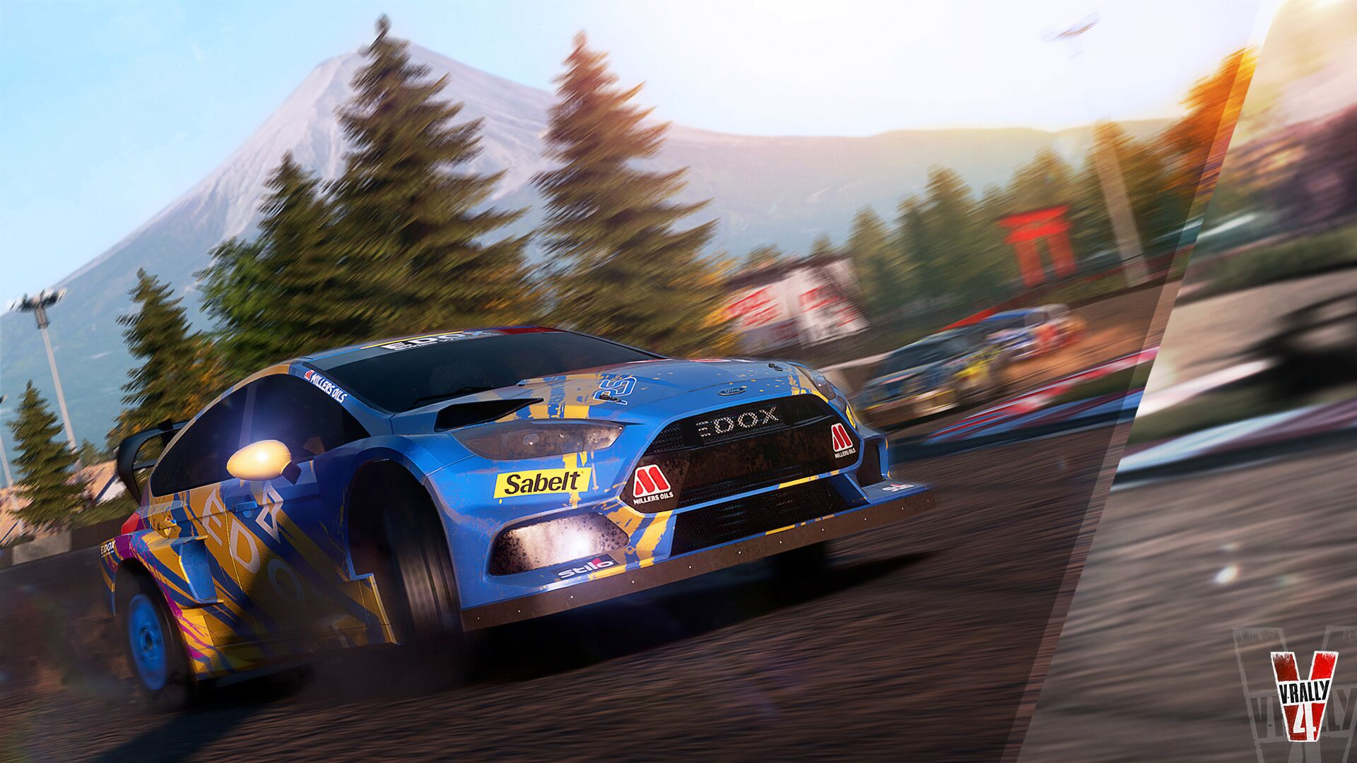 Check out our exclusive V-Rally 4 first look gameplay