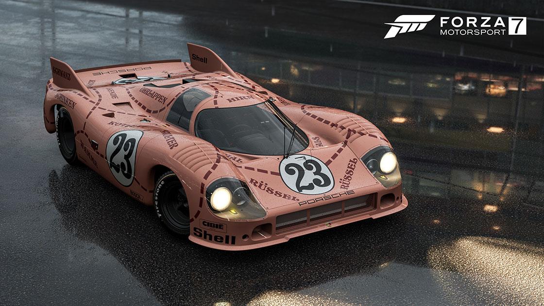 'Pink Pig' Porsche 917 stars in Forza Motorsport 7's July content update