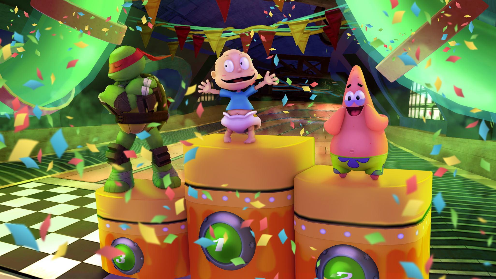 Nickelodeon Kart Racers features some of your favourite animated characters