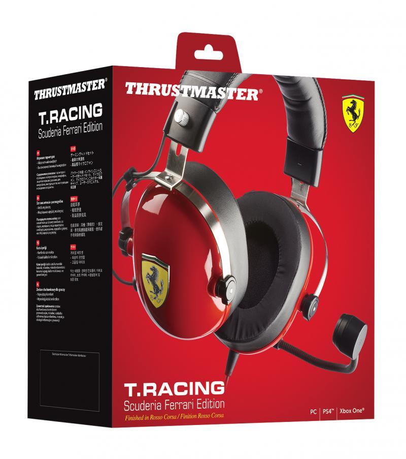 Thrustmaster reveals Scuderia Ferrari gaming headset - Team VVV