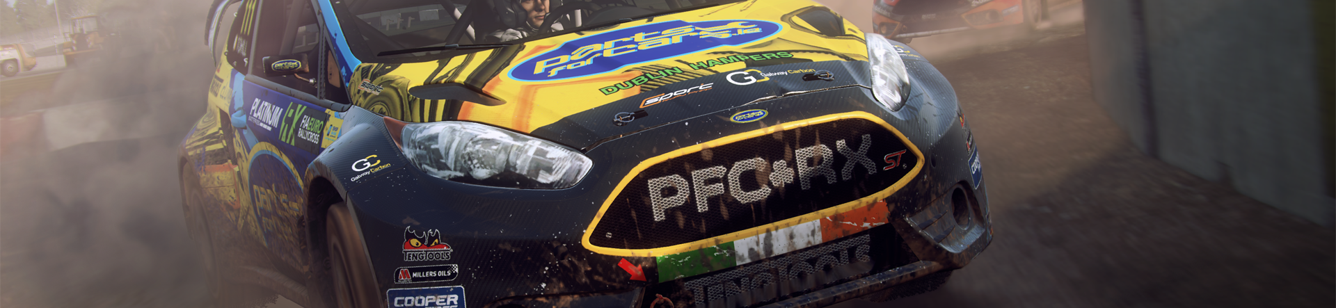DiRT Rally 2 0 will launch with 8 rallycross tracks with more to