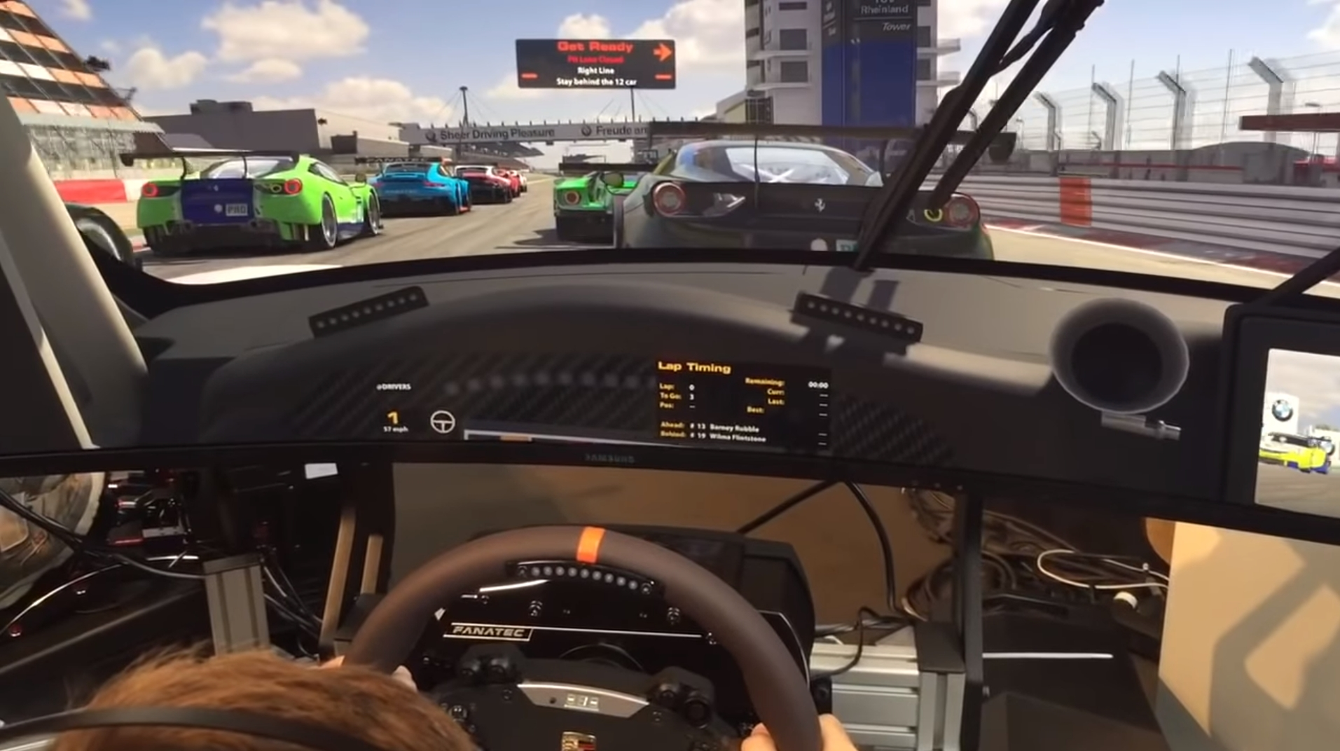 First A I  footage revealed on iRacing - Team VVV