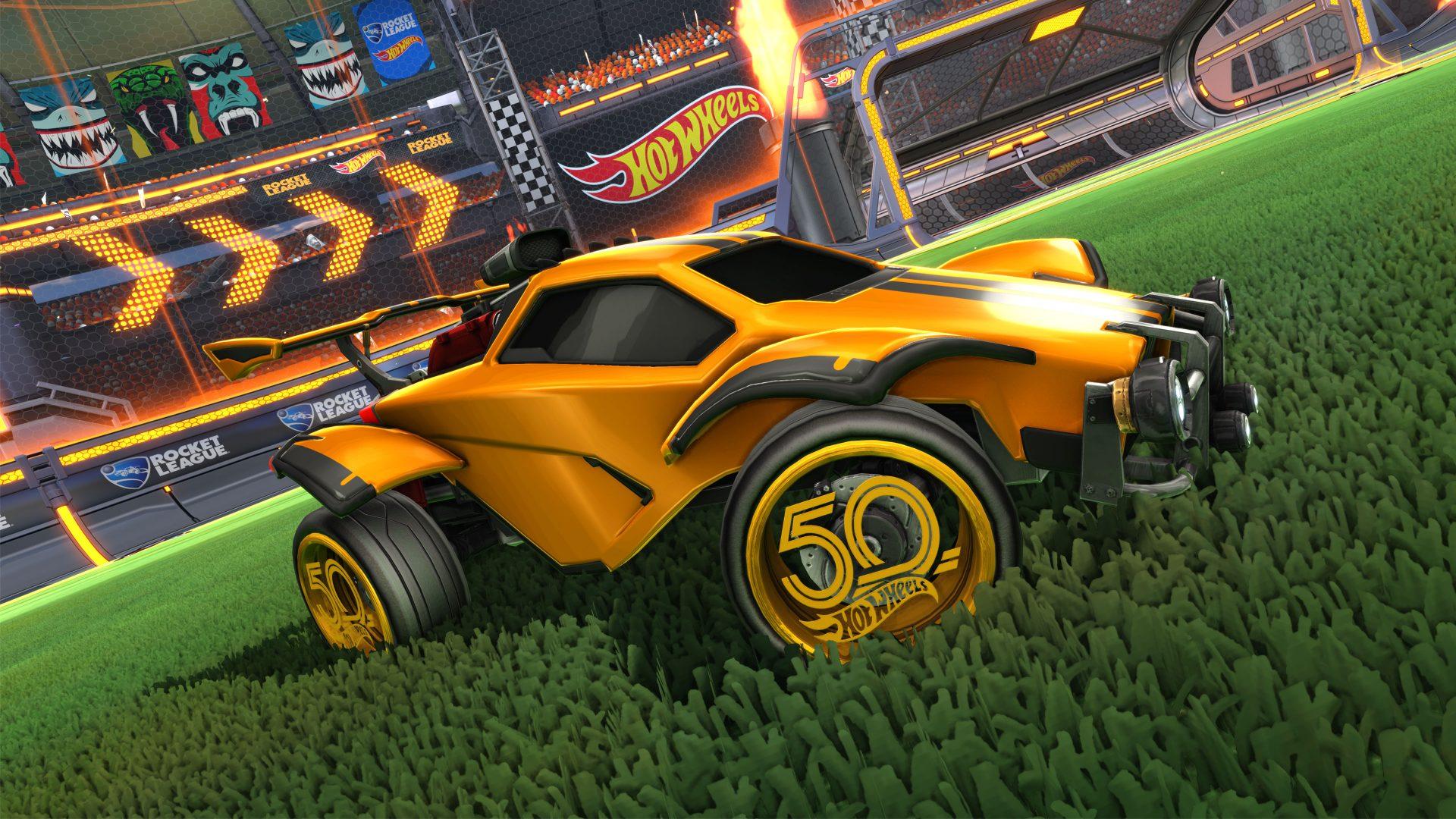 Rocket League: new season & Hot Wheels DLC arrives today