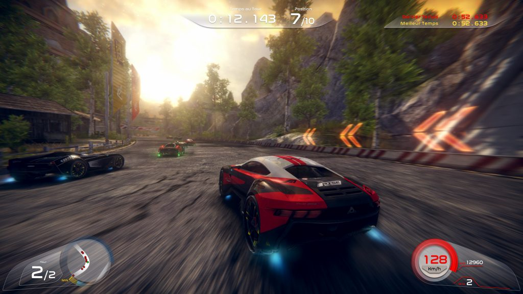 Arcade racer Rise: Race The Future adds VR mode in latest update