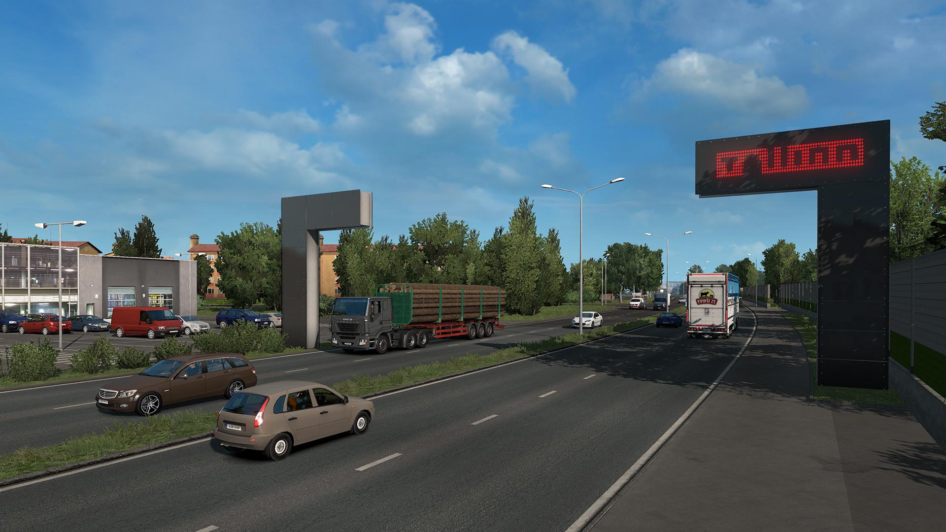 euro truck simulator 2 39 s beyond the baltic sea map. Black Bedroom Furniture Sets. Home Design Ideas