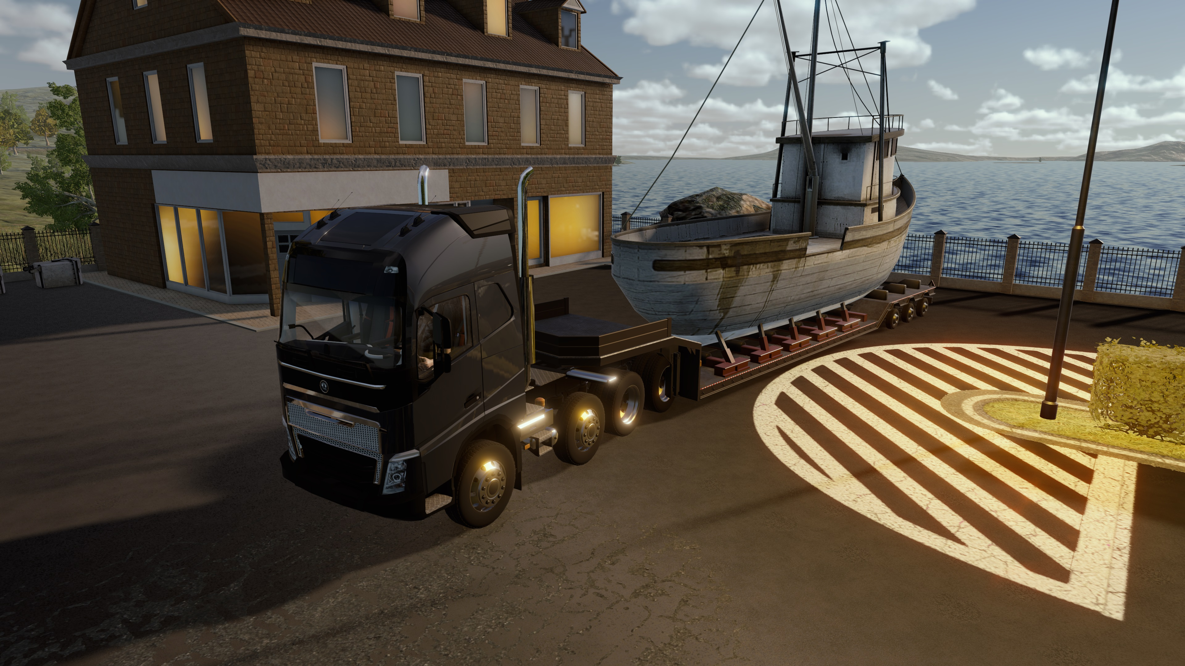 We play an hour of Truck Driver on the PS4 - Team VVV