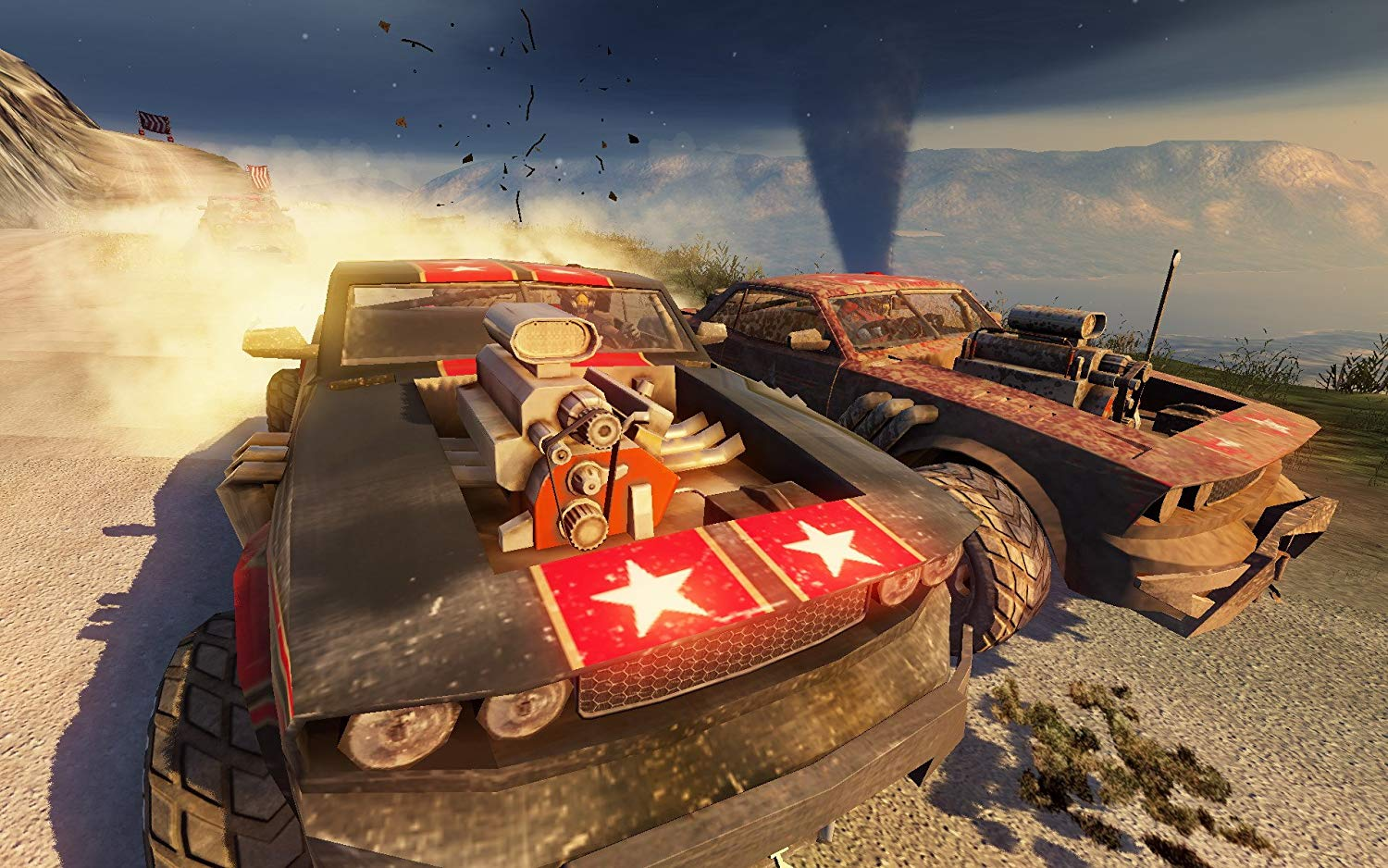 You can now play FUEL on the Xbox One thanks to backward compatibility