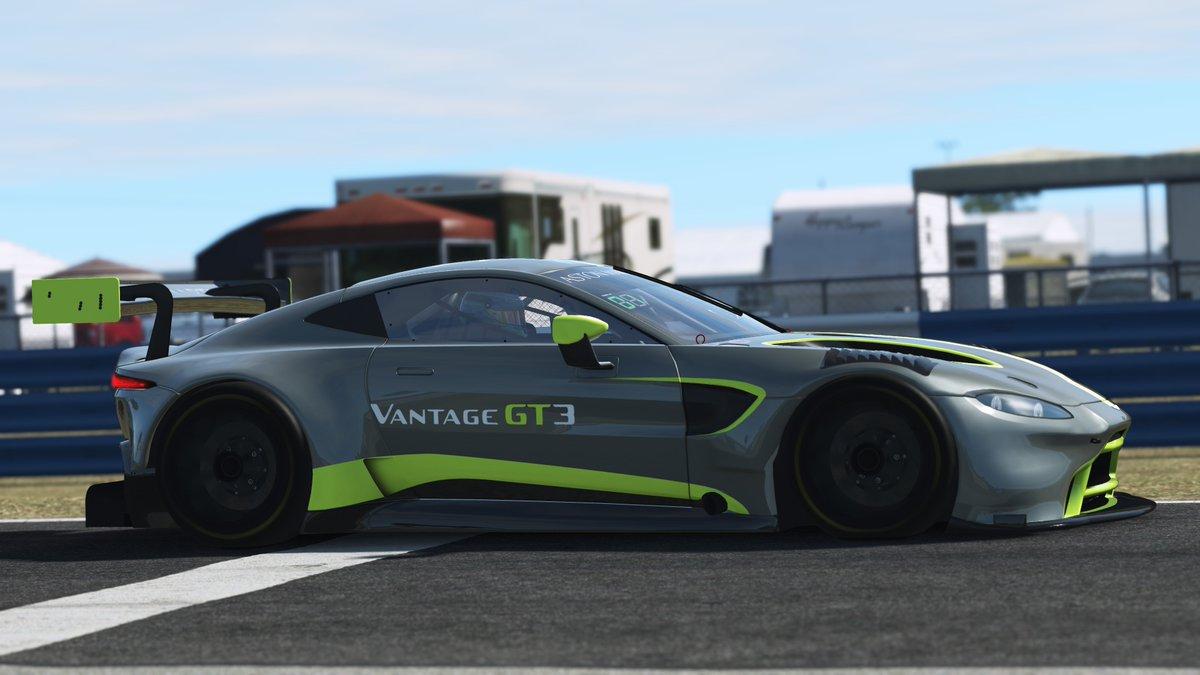 rFactor 2: Aston Martin Vantage finally arrives for GT3