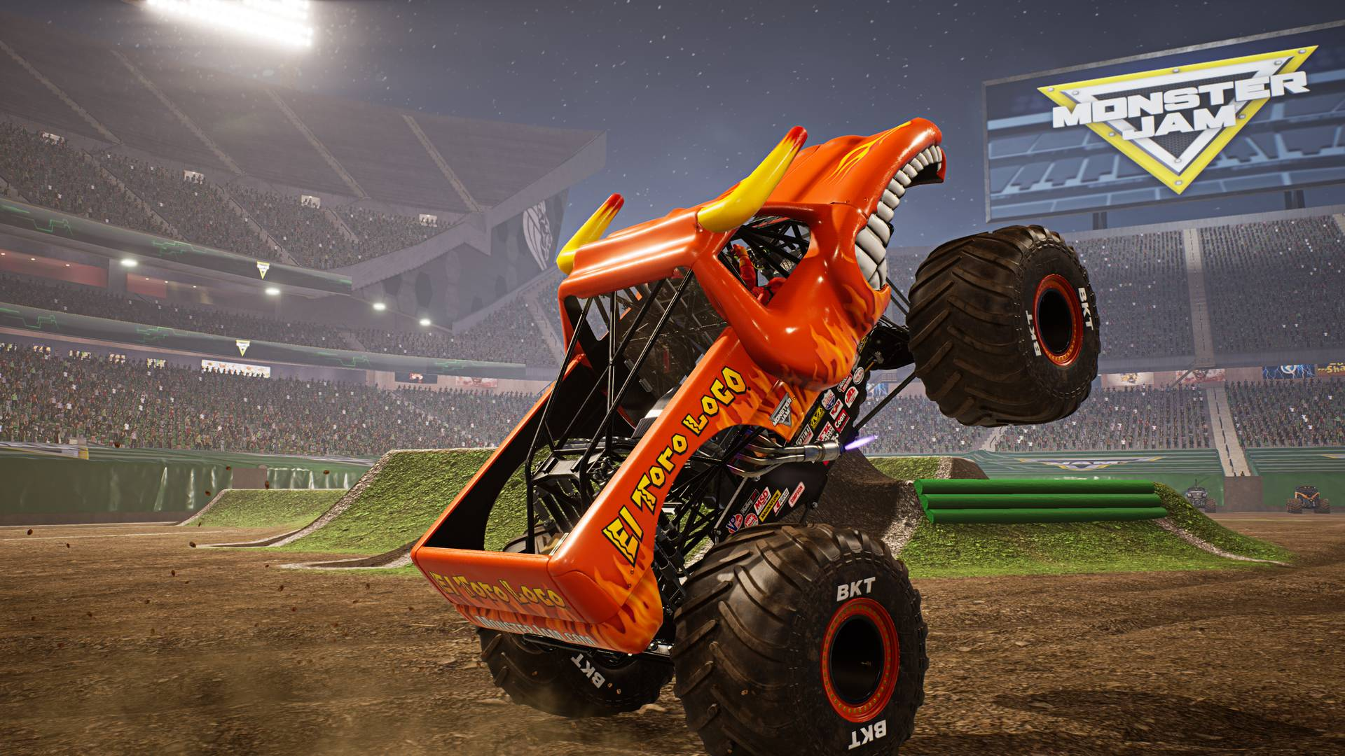 Monster Jam Steel Titans coming to PS4, Xbox One & PC ...