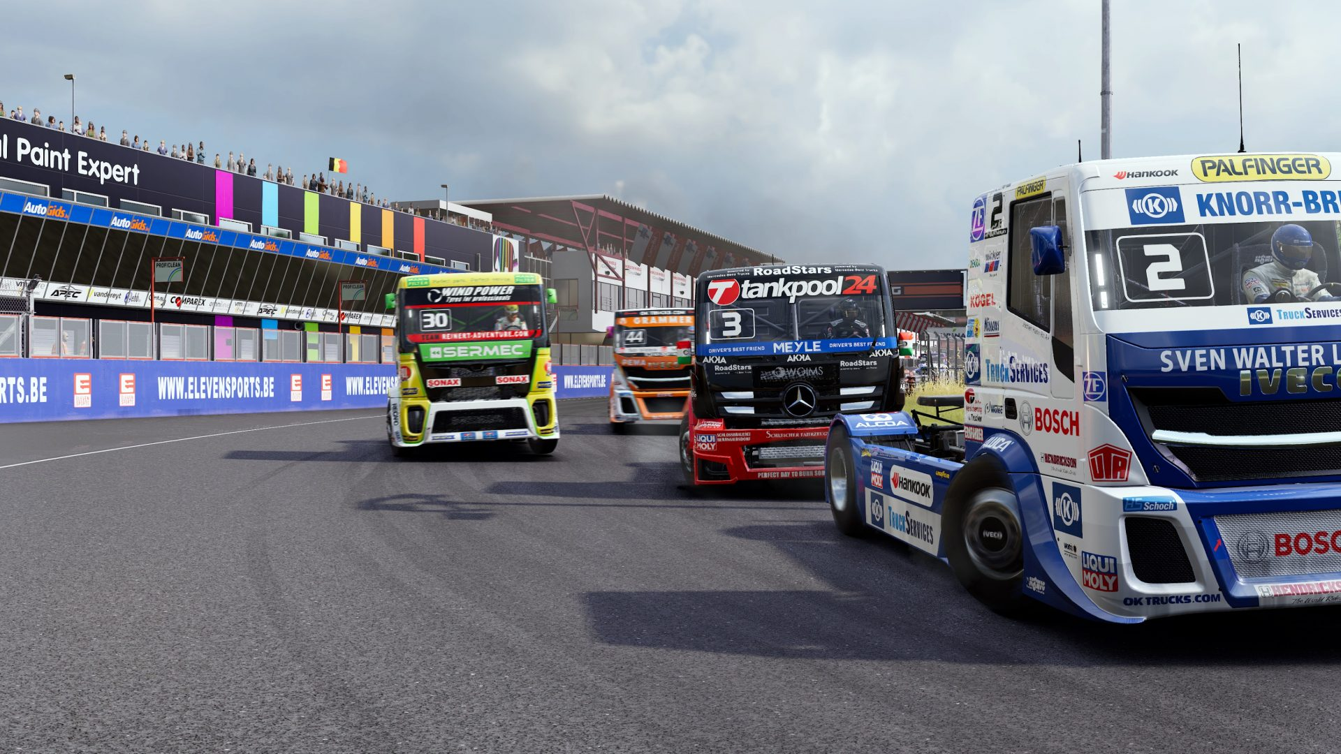 fia european truck racing championship game 2019 in 9 new games in july