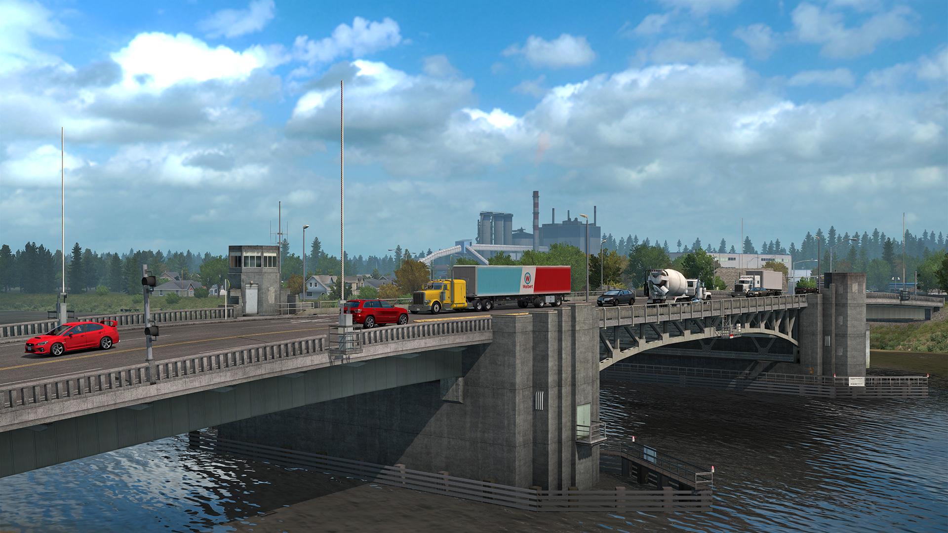 American truck simulator washington release date