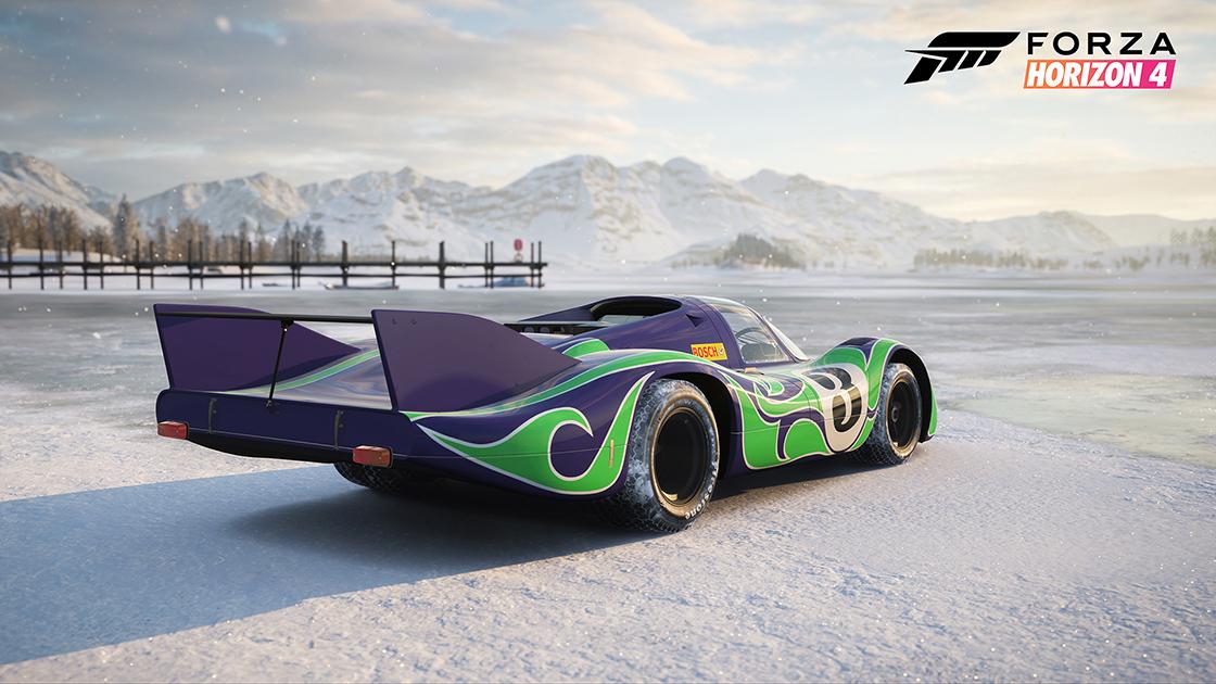 Forza Horizon 4's Series 13 update brings the Porsches