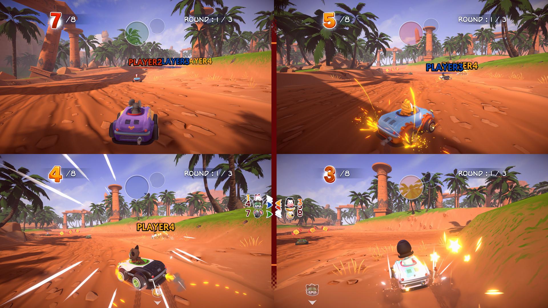 Garfield Kart Furious Racing Releases On November 7 Team Vvv