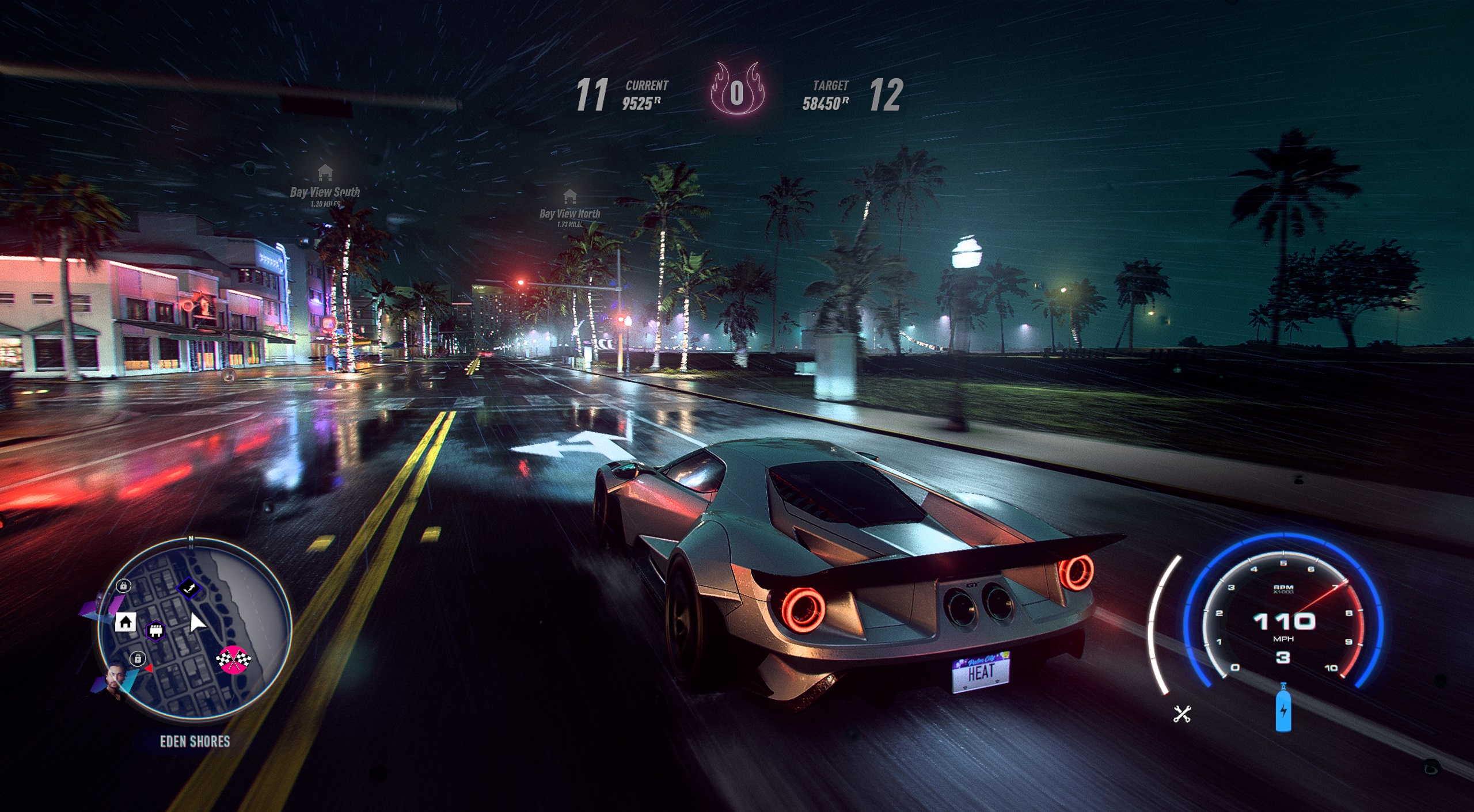need for speed heat flamingo locations map