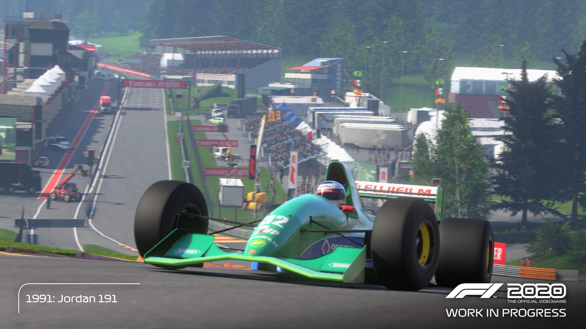 F1 2020 Michael Schumacher Deluxe Content Revealed Team Vvv